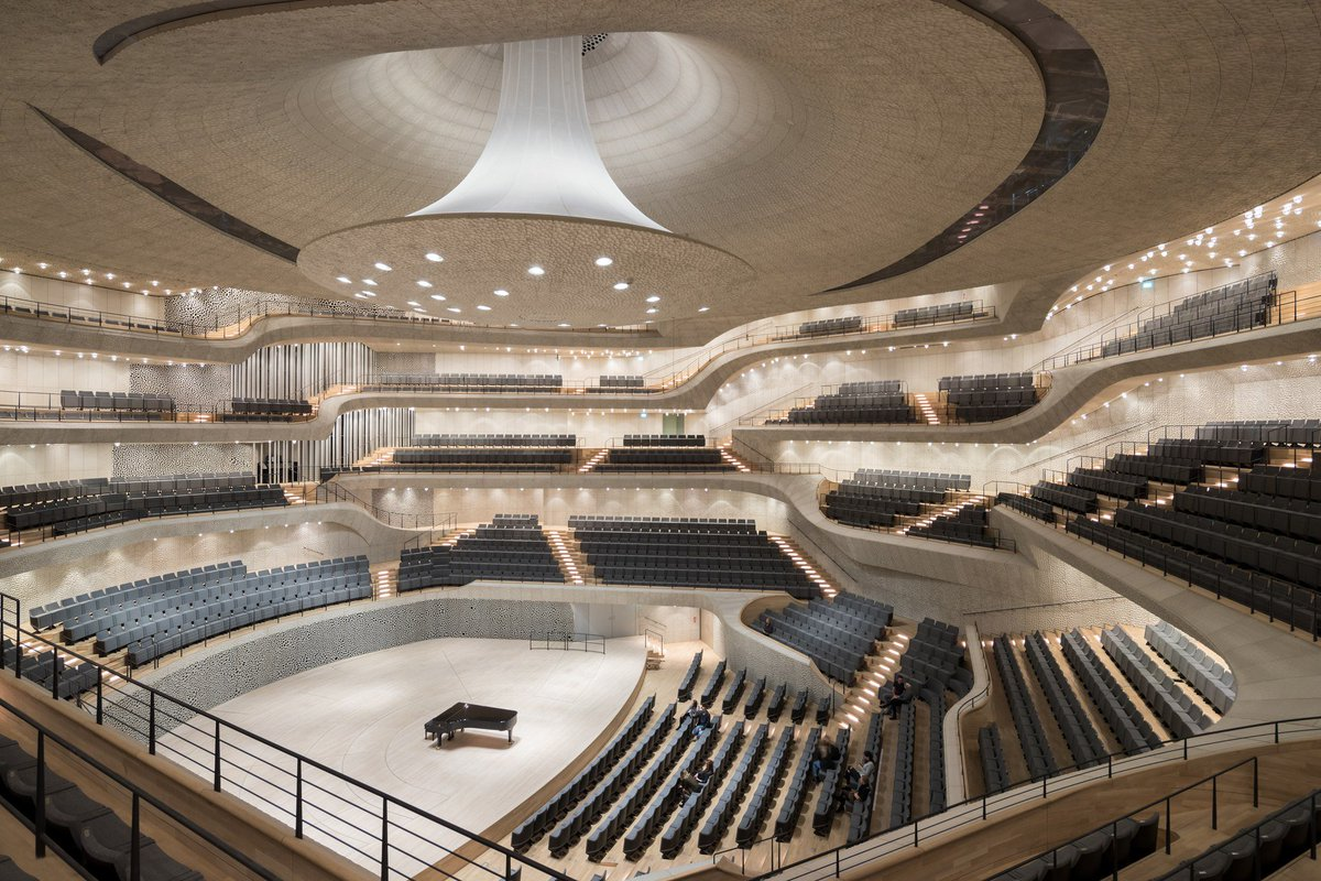 What happens when #algorithms #design a concert hall? The stunning #Elbphilharmonie. @WIRED #Architecture  http:// ow.ly/PEFU309cBBI  &nbsp;  <br>http://pic.twitter.com/1LRdUgIS9g