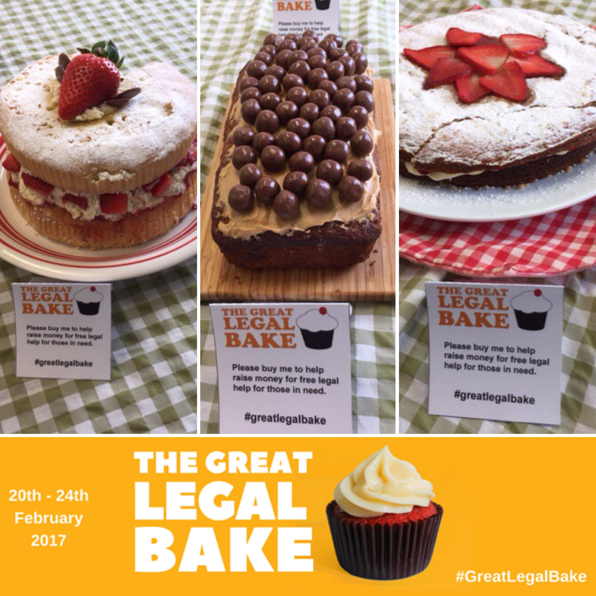 Monday was a successful #baking day for Acuity Legal! An amazing start of #GreatLegalBake week! Check out some of the #cakes from yesterday! https://t.co/an5nr1e6gH