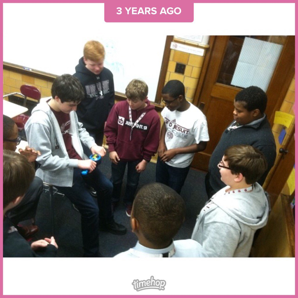 Throwback to this 7th grade BopIt tournament with now current #E2 students. <br>http://pic.twitter.com/FDlsYjZJ0g