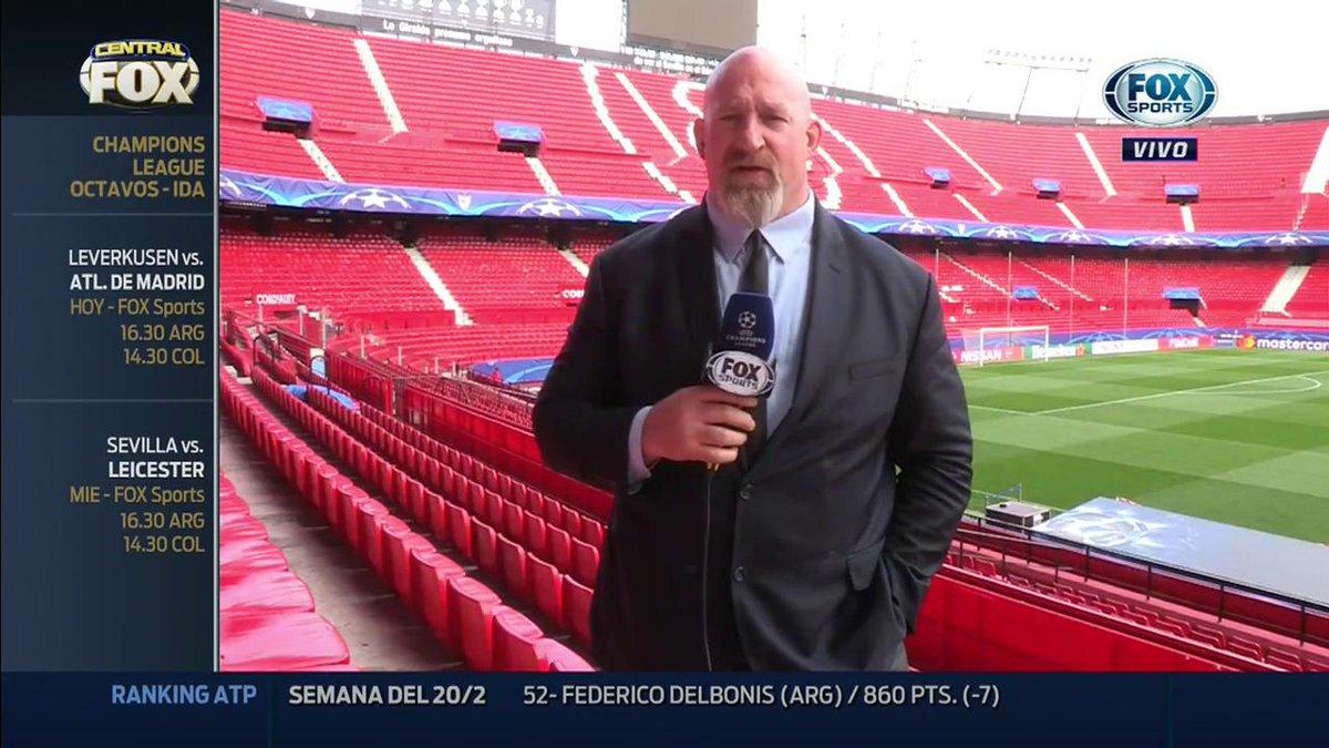 #CentralFOX - La previa más completa de Sevilla vs. Leicester por la #...