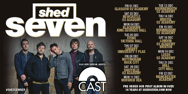 In all the excitement about the @shedseven announcements. I had totally missed that its @castofficial supporting 👍