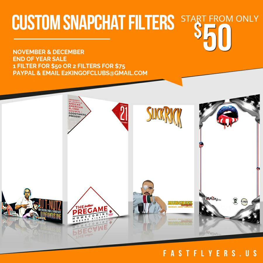 Get a #snapchat filter for your next event! FastFlyers.US FastFlyersUS@gmail.com #snap #design #graphicdesign #Geofilter <br>http://pic.twitter.com/4142F6FeM1