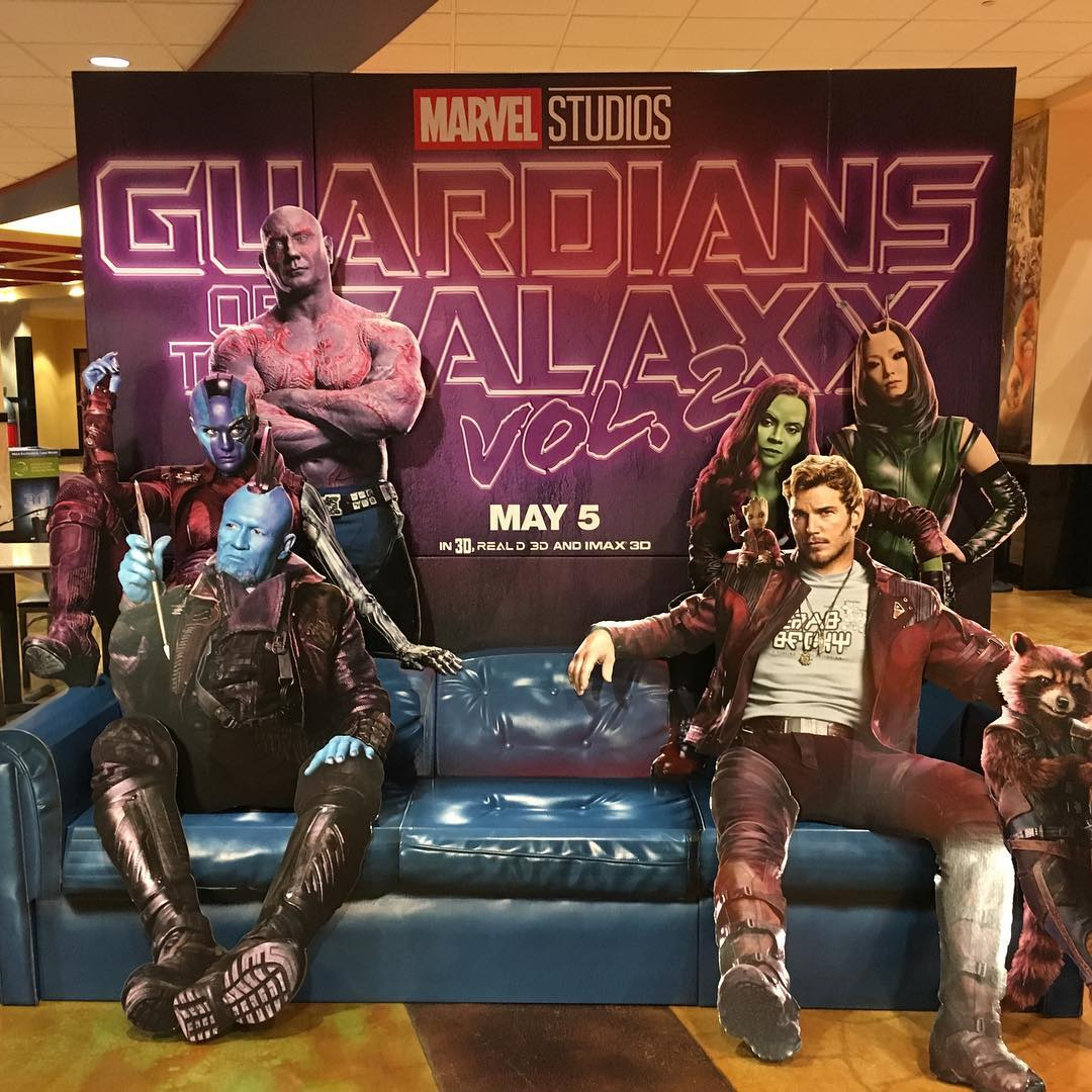 awesome guardians of the galaxy 2 baby groot billboard