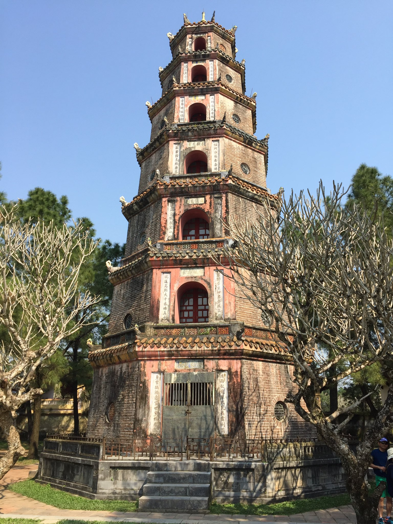 Chùa Thiên Mụ (Pagoda of the Celestial Lady), Huế https://t.co/Hlu4HQn2kG