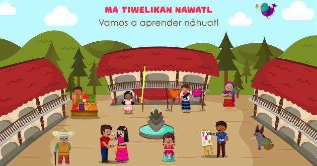 """#LenguaMaterna. ¿Quieres aprender #Náhuatl? Descarga la aplicación """"Ma..."""
