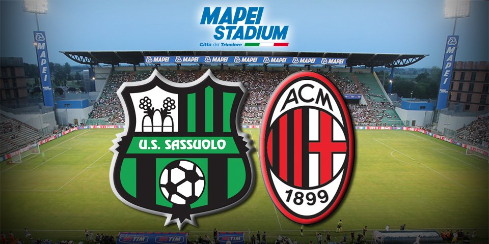Sassuolo Milan Video Streaming: Rojadirecta e Diretta TV