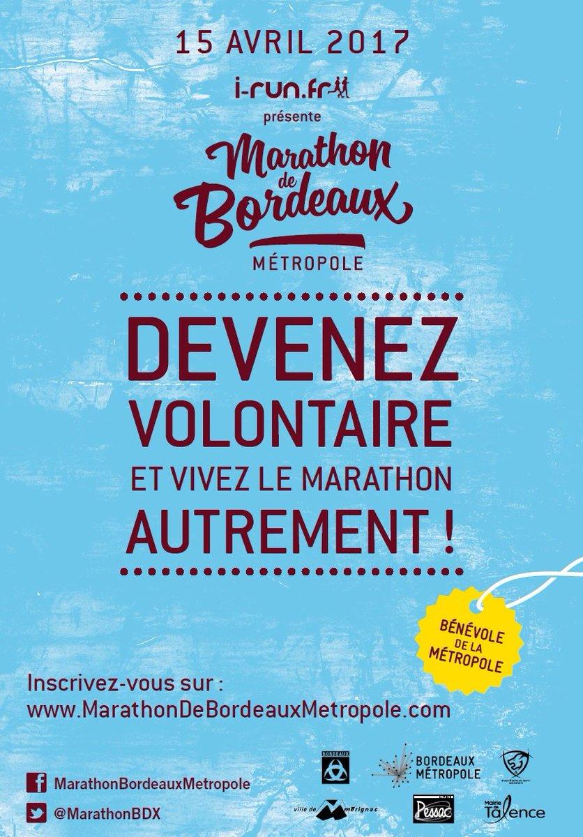 [#Marathon #Bordeaux]  Devenez volontaire et vivez le Marathon de @BxMetro autrement !  https://www. infotbm.com/actualites/mar athon-devenez-volontaire-0 &nbsp; … <br>http://pic.twitter.com/72NBH7CLxa