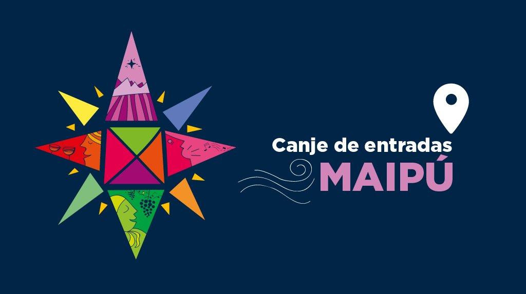 Canjeá tu #entrada en #Maipú de lunes a lunes, 9 a 17 en el Centro de Informes Nº 1 (Pescara 190) #fiestadelacosecha2017 #vendimia2017<br>http://pic.twitter.com/l8IU7TEkxW