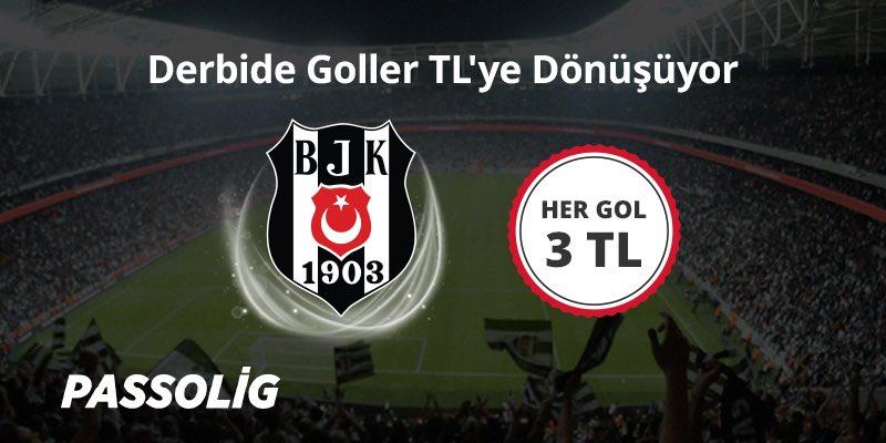 Galatasaray-Beşiktaş derbisinde Beşiktaşımızın attığı goller TL'ye dön...