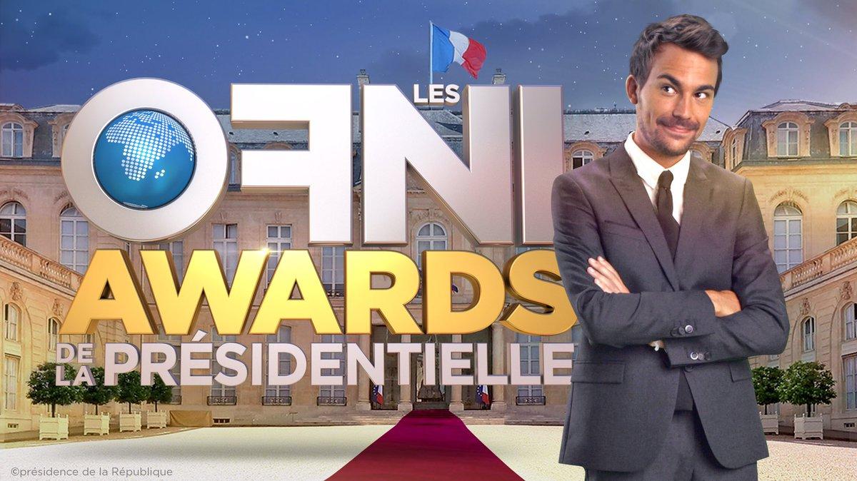 Dimanche 12 mars, #OFNI en prime time sur @W9 ! Les awards de la #Presidentielle2017  <br>http://pic.twitter.com/HKak4uhQWh