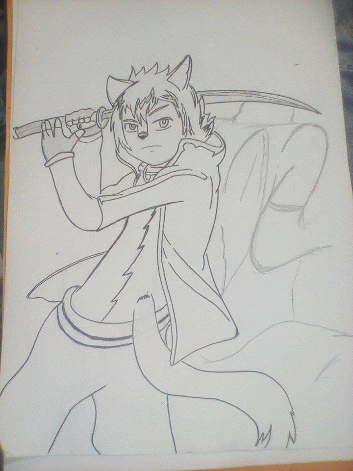 #Drawing #Arttrade #Duo #furry #EnCour ptit art trade avec un furs sur fb  en cour , come le loup est pret manque plus que le dragon !<br>http://pic.twitter.com/rmRiBzdjnQ