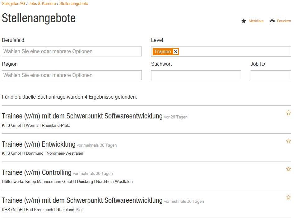 """Salzgitter Ag - Hr On Twitter: """"Für Ihre Bewerbung Als Trainee"""