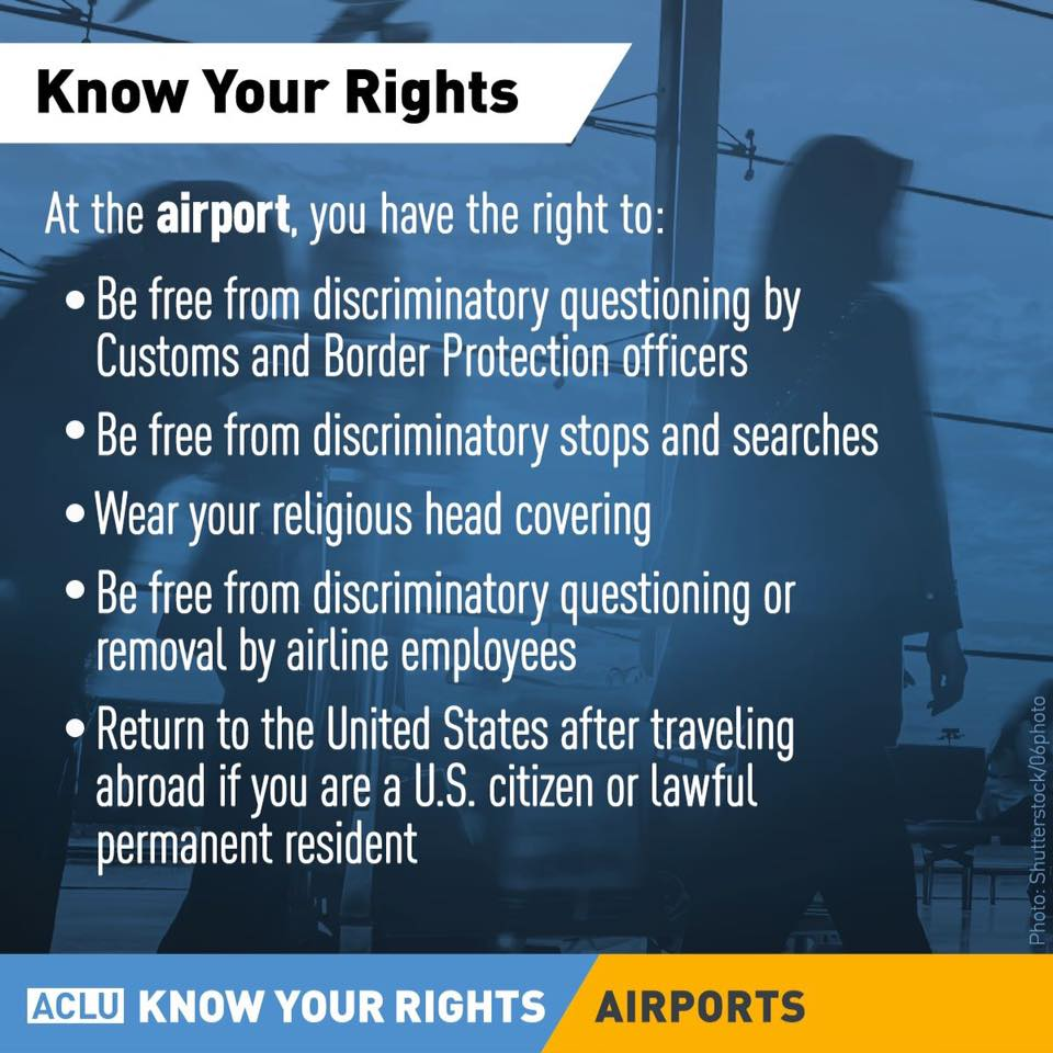 Know your rights at the airport. #TravelTuesday https://t.co/TcCtMYaIQ...