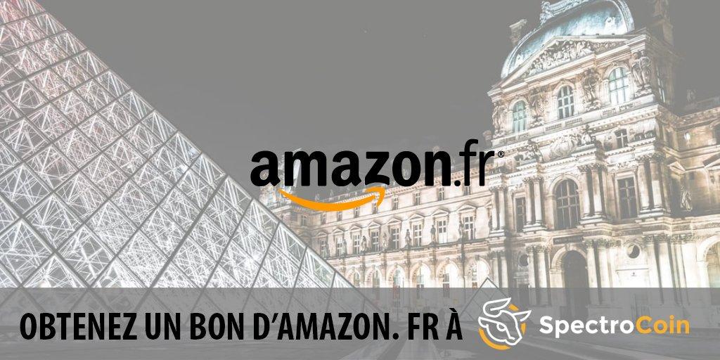 Saviez-vous que vous pouvez acheter des cartes-cadeaux d'Amazon.fr avec #bitcoin dans le SpectroCoin? #bitcoinwallet #btc <br>http://pic.twitter.com/BGOBHxepe7