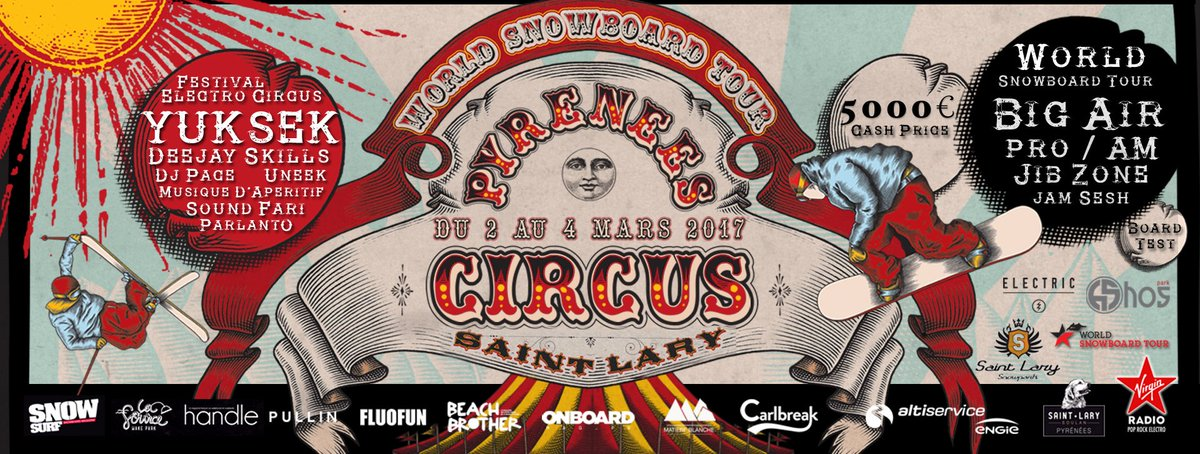 RDV à la #Pyrénéescircus le 2 mars avec DJ Stillfree  #music #Soundfari #DJ #snow #saintlary<br>http://pic.twitter.com/vkNcQJz06X
