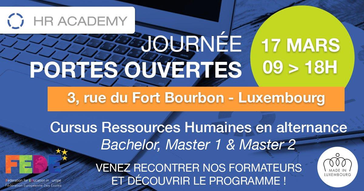 Nous formons les meilleurs RH de demain, venez nous rencontrer le 17 mars ! #OpenDay #Formation #HR #RH #Bachelor #Master #Luxembourg<br>http://pic.twitter.com/LGMf4gHvpn