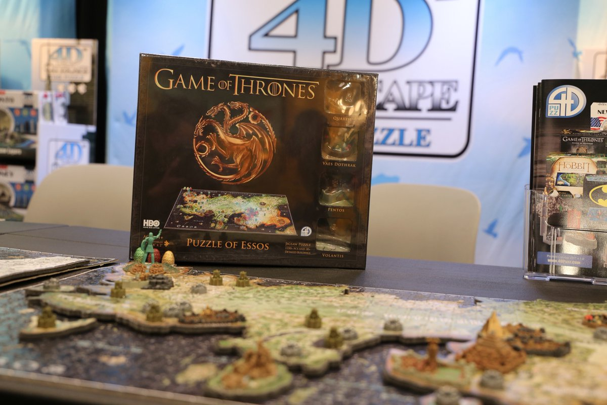 Rally the realm. We're live at #NYTF giving you a look at the #GameofT...