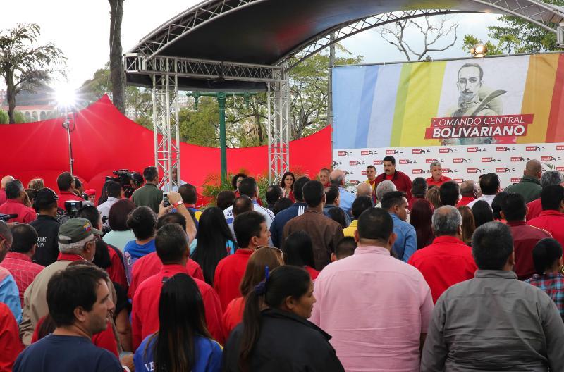 #FOTOS Así fue instalado el Comando Central Bolivariano del #PSUV #Pas...