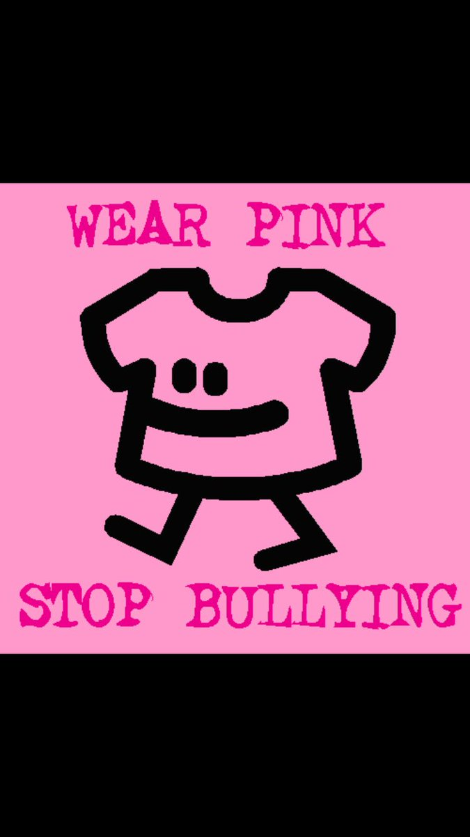 Tomorrow (Wednesday February 22) is &quot;wear pink day&quot; at KHPS! #PinkShirtPromise #bekind #beopen #becurious <br>http://pic.twitter.com/7U2jmHEoB4