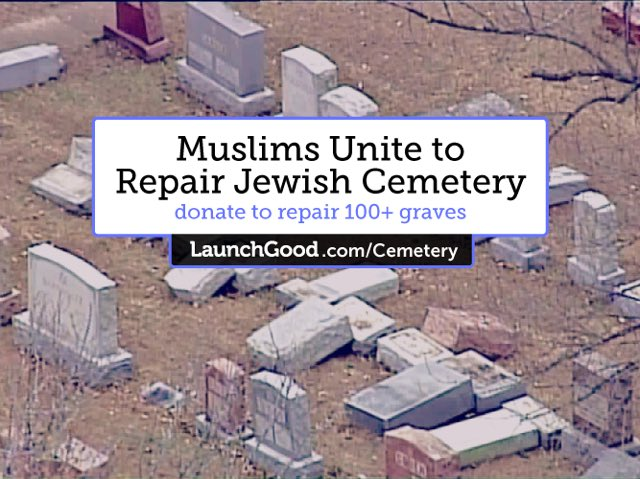 We are almost there. Help repair the St. Louis Jewish cemetery. Donate what you can.
