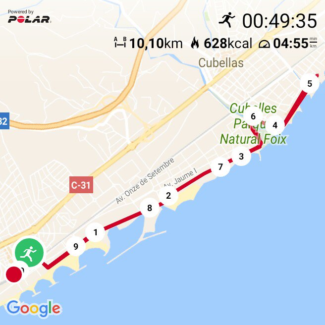 #TuesdayMotivation #keepgoing and another #trainingday. Not the best #pace, but it was #fun <br>http://pic.twitter.com/6U0SmIwB8w