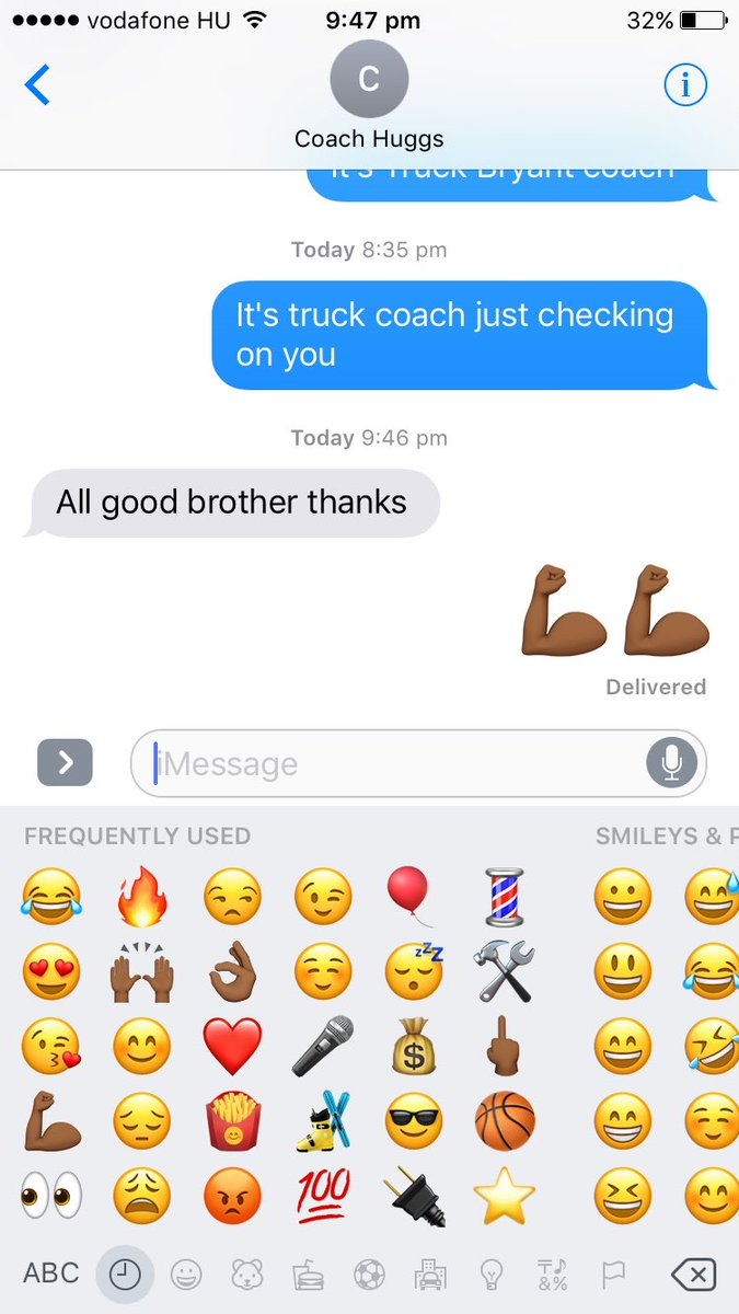 When you get that text back from the big homie @CoachHuggs great coach and mentor of mine forever! https://t.co/bWiePwUPFr