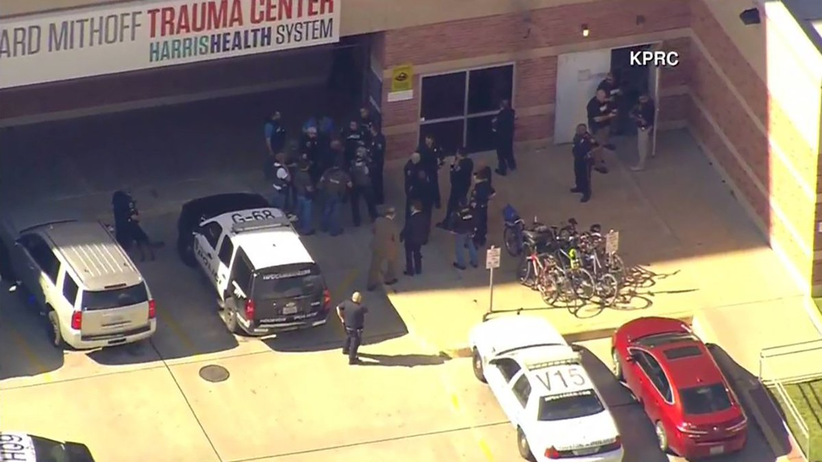 Watch live: houston police respond to shots fired at ben taub