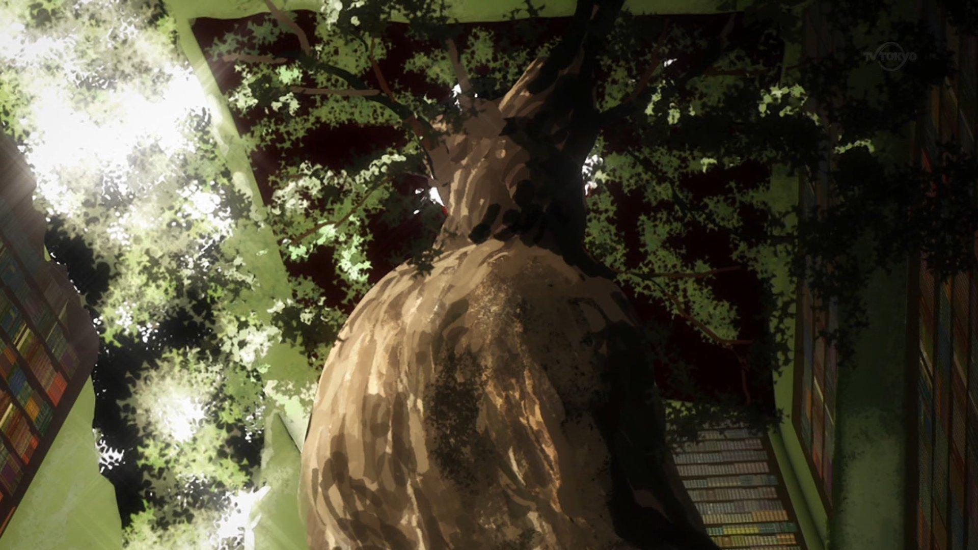 この木が女体に見えて仕方ない #kemono_friends #けもフレ https://t.co/txgBszgrhN