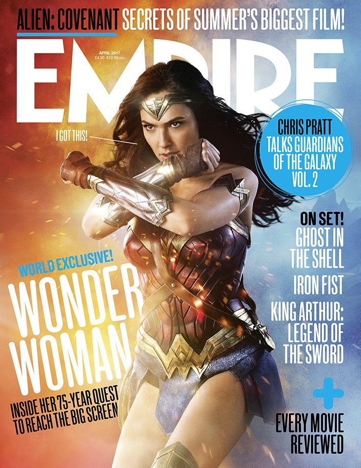 BOOM! WONDER WOMAN ❤️❤️❤️ Pick up the new issue of @empiremagazine, on...