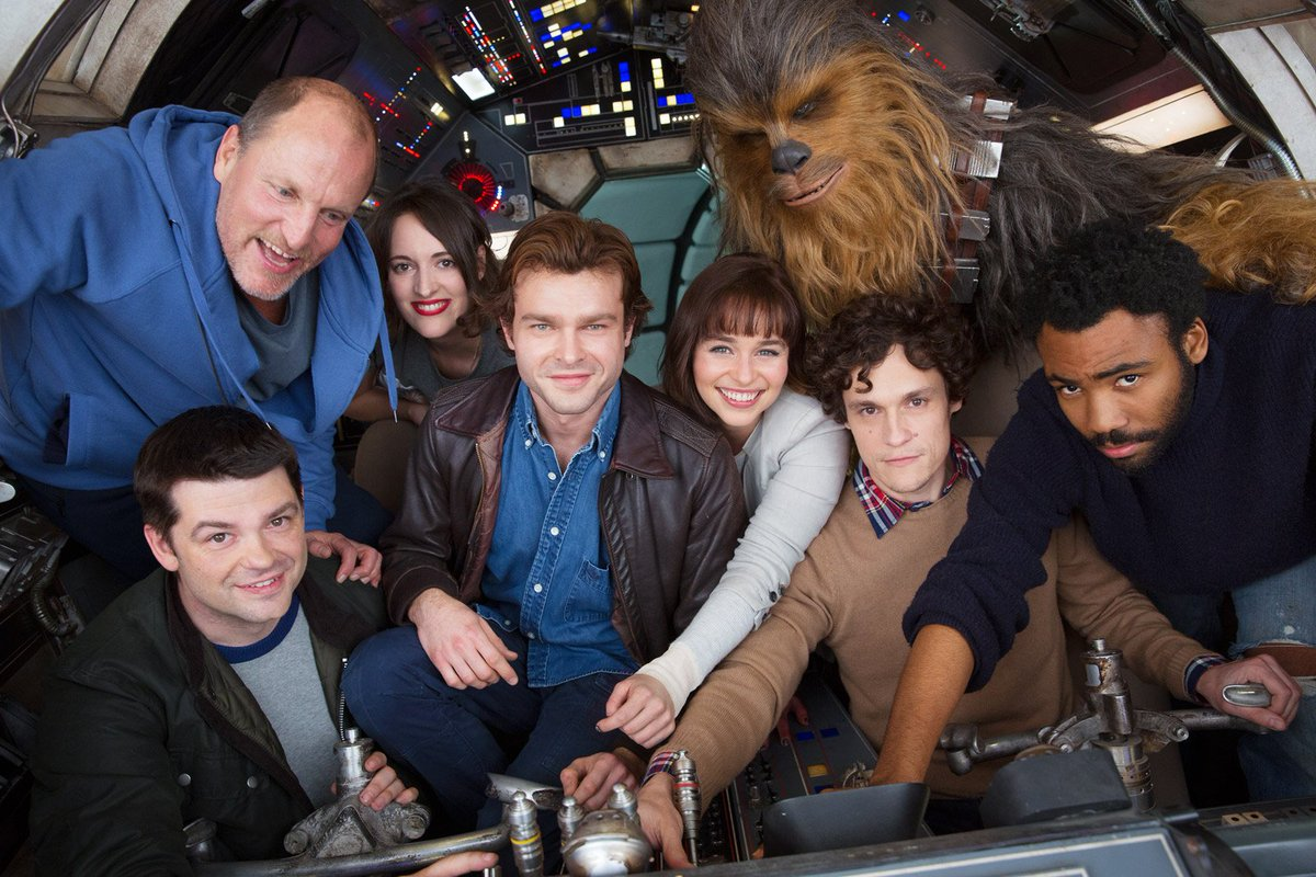 'STAR WARS' Han Solo movie releases first photo...