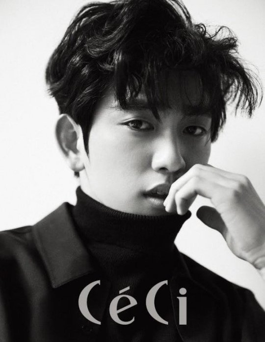 #GOT7's Jinyoung Takes On A Sophisticated Look For CeCi