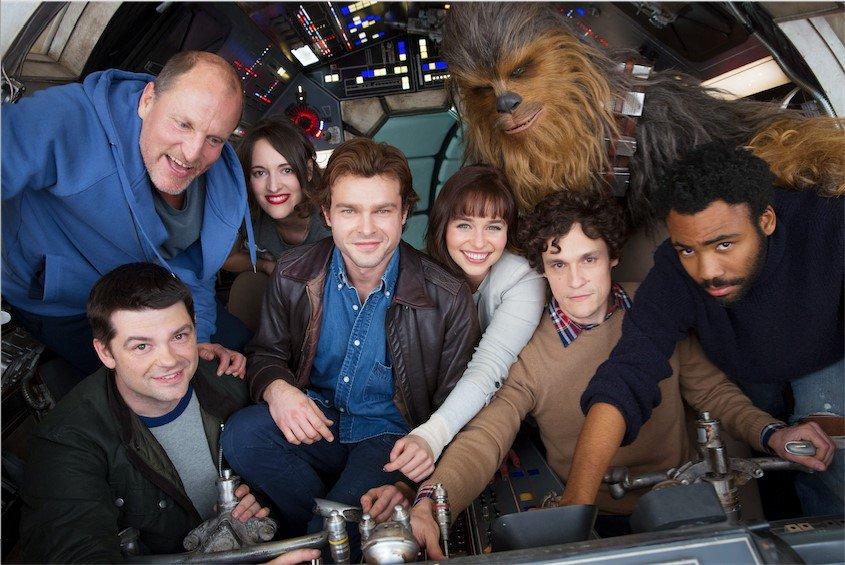 Han Solo — Smuggler. Scoundrel. Hero. A New #StarWars story begins.