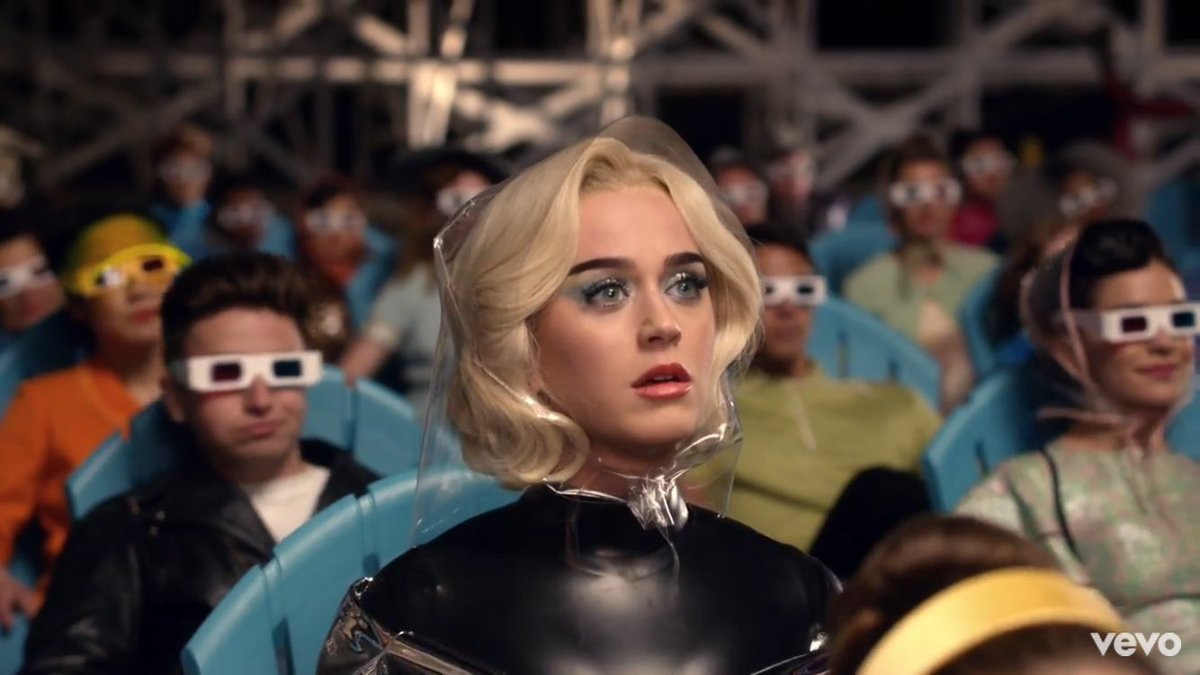 @katyperry my favourite moment in this video, realisation