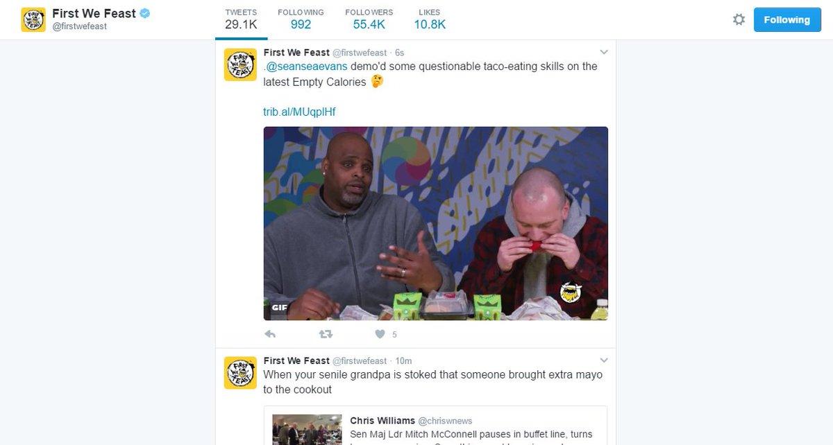 Sean Evans on Twitter: