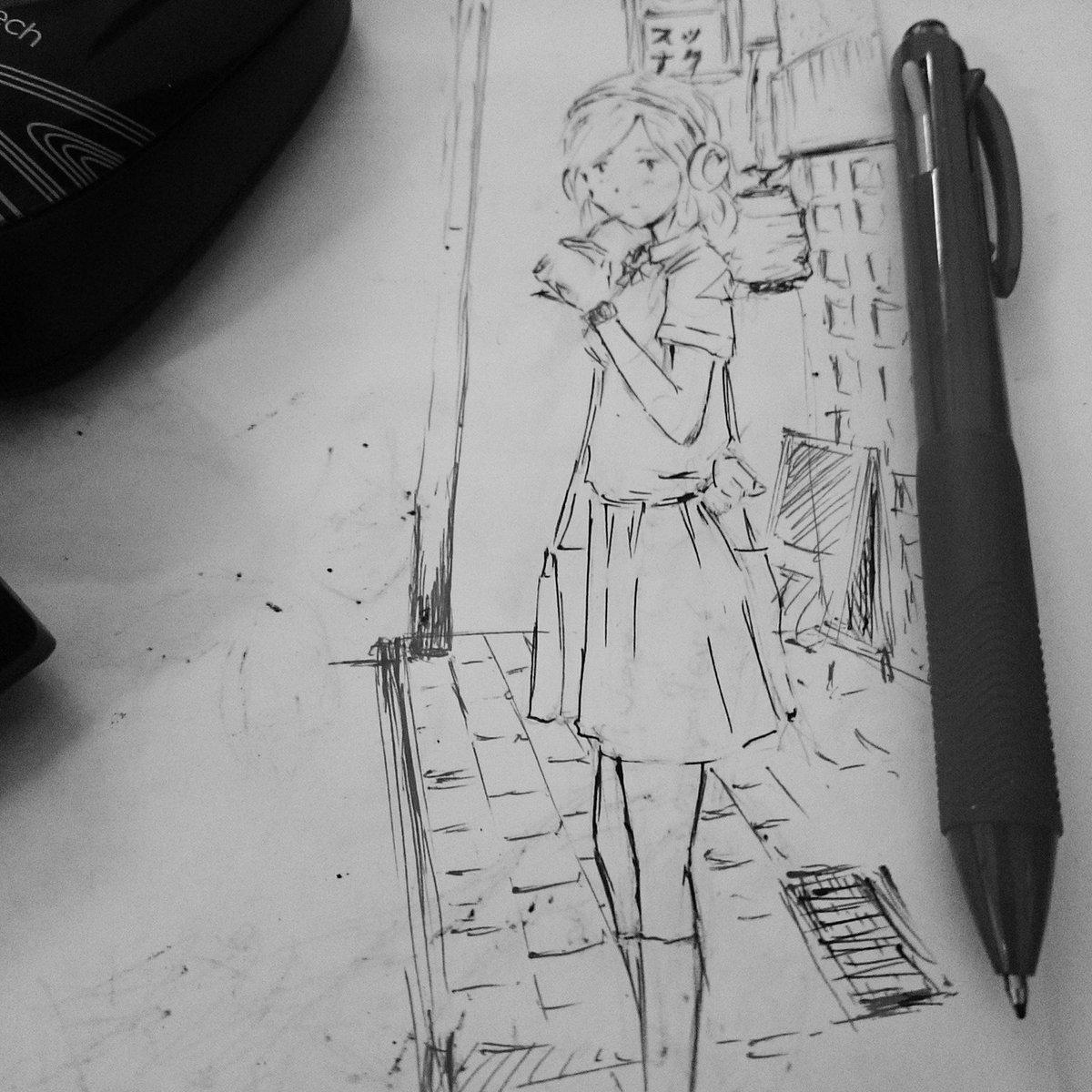 Quand les réunions sont trop longues #model #fashion #drawing #dessin #illustration #イラスト #絵 #おんなの子  #artwork #artsy #love #life <br>http://pic.twitter.com/Eefjn2OTRj