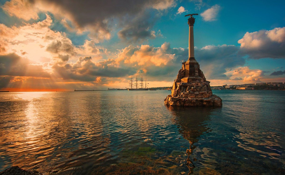 #OTD in 1784 Catherine the Great gave name to the city of #Sevastopol #Crimea #Russia<br>http://pic.twitter.com/tv62azFNBr