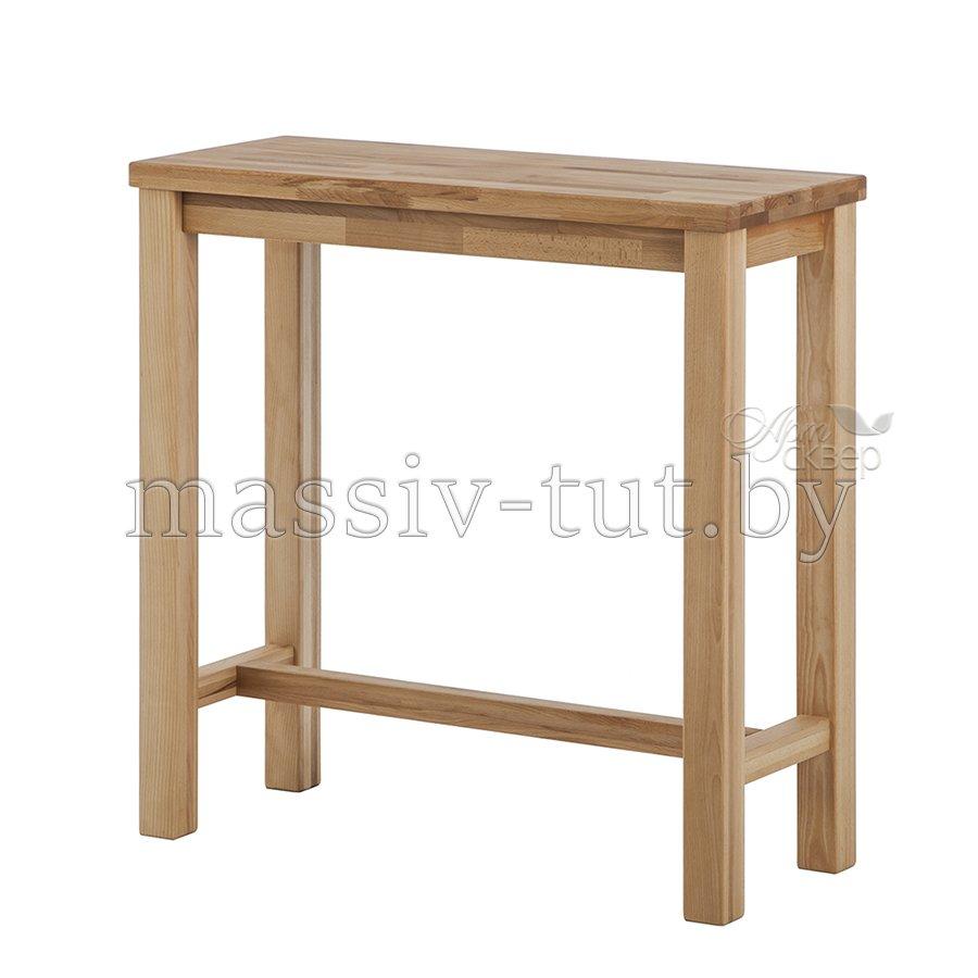 Барный комплект стол барный кухонный и 4 барных стула из мас.