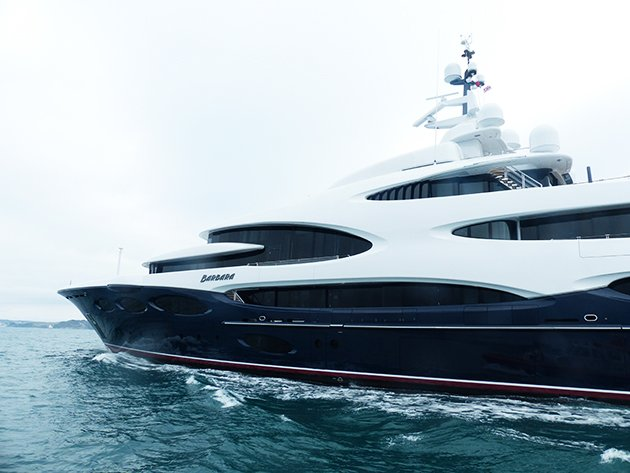 #Exclusive #pictures of 88.5m Oceanco Barbara on maiden voyage  http:// rite.ly/jEqd  &nbsp;  <br>http://pic.twitter.com/WEUElpQKGP