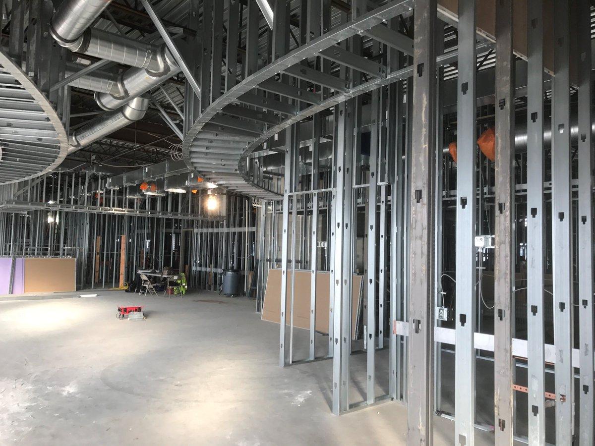 Interior metal framing Heavy Gauge Metal Rtl Construction On Twitter Buildipediacom Rtl Construction On Twitter