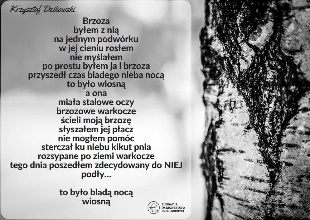 Krzysztof Dzikowski On Twitter Napisany W Młodości Dziś