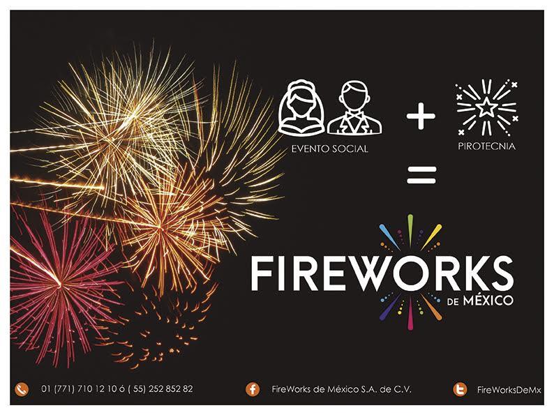 Con @FireWorksDeMx, todos querrán estar en tus eventos, gracias a la más profesional pirotecnia en México. #FuegosArtificiales #Pirotecnia <br>http://pic.twitter.com/wDCyO3TaSw