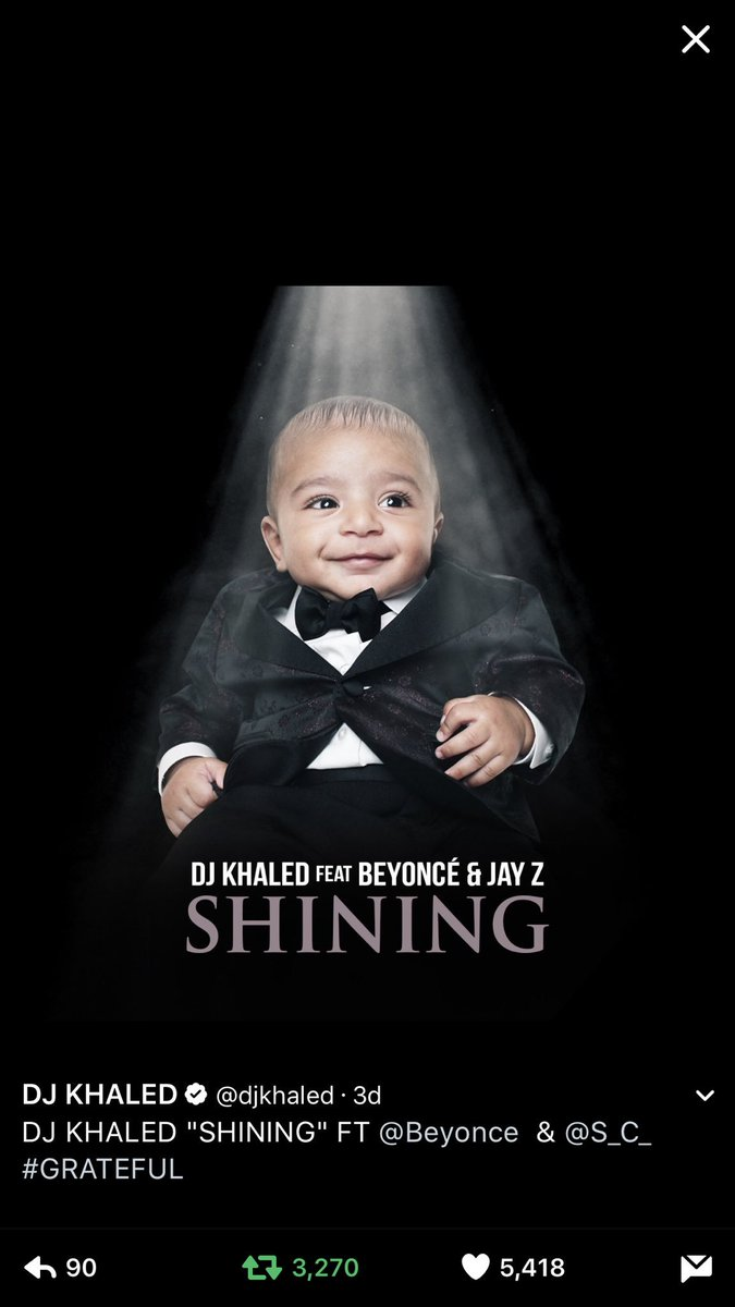 On iTunes now #SHINING #GRATEFUL https://t.co/9ciPW13zdA