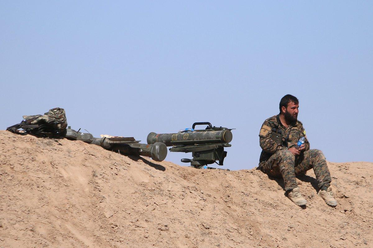 قوات سوريا الديمقراطيه ( قسد ) .......نظرة عسكريه .......ومستقبليه  C5NehM1WAAAYUAT