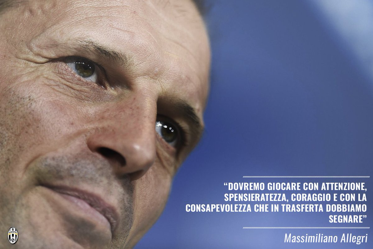 Cosa chiede Mister @OfficialAllegri per #FCPJuve? Questo: https://t.co...