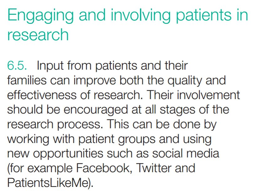 Engaging and involving patients in research key part of UK Strategy for Rare Diseases https://t.co/ZvwupfanZ8 #research #rarediseaseday BH https://t.co/n7xJ8dgUxH