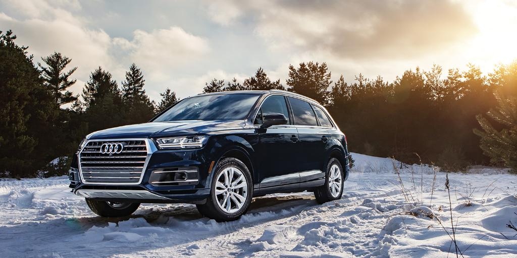 Sleds get cooler when you grow up. #AudiQ7