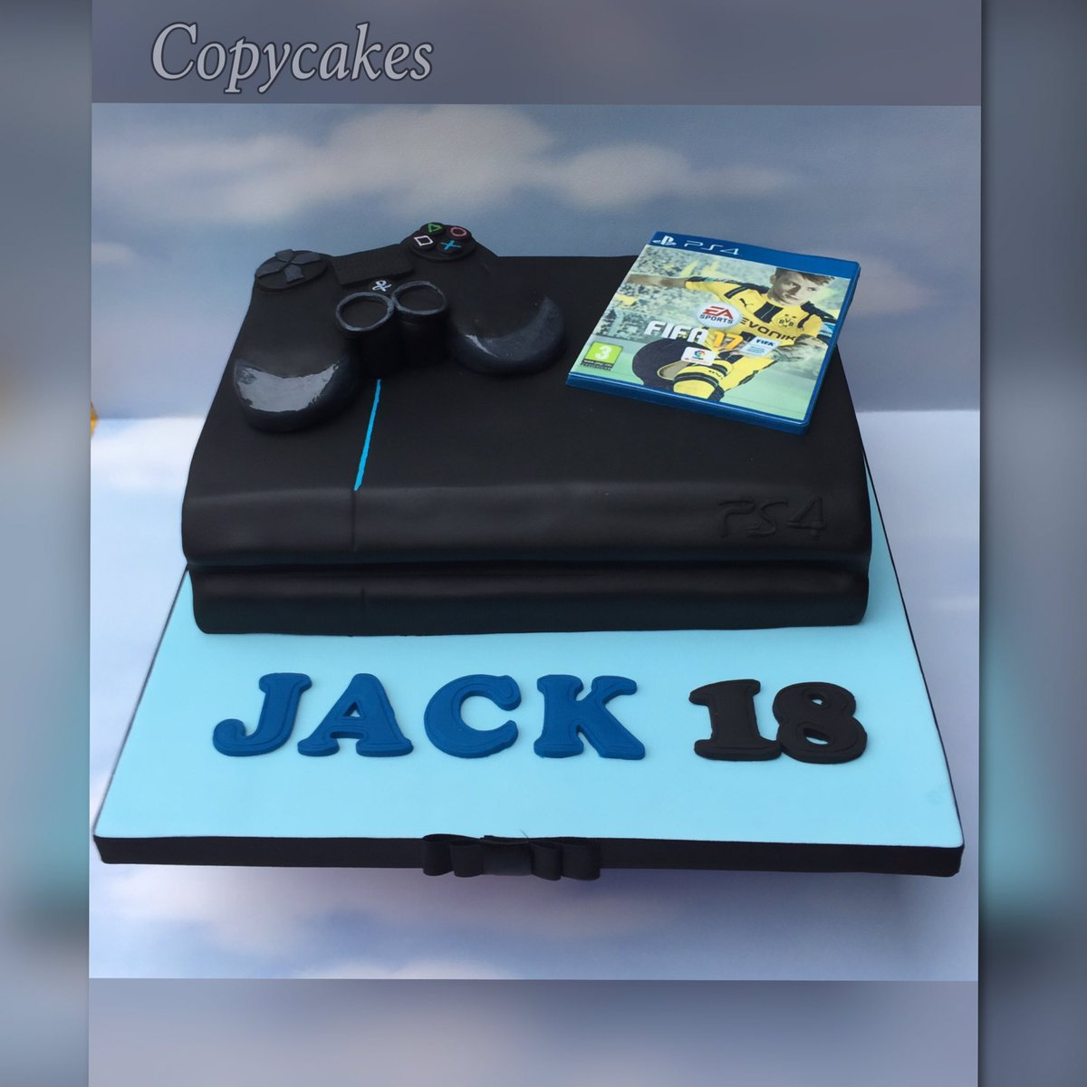 Copy Cakes By Wendy On Twitter Playstation4 Fifa17 Cake Birthday