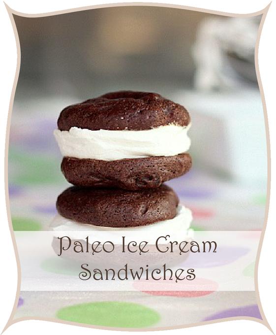 Paleo Ice Cream Sandwiches