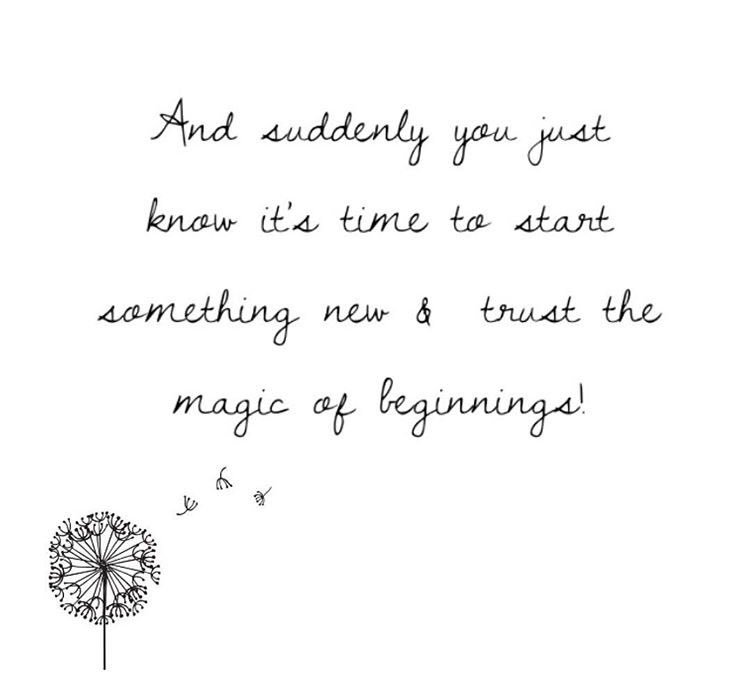 Exciting times ahead #TuesdayMotivation #NewBeginning <br>http://pic.twitter.com/Q86O53yqiF