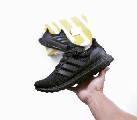adidas Originals Ultra Boost Uncaged (dark grey / white) Free